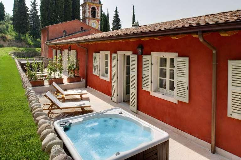 Suite con terrazza e idromassaggio